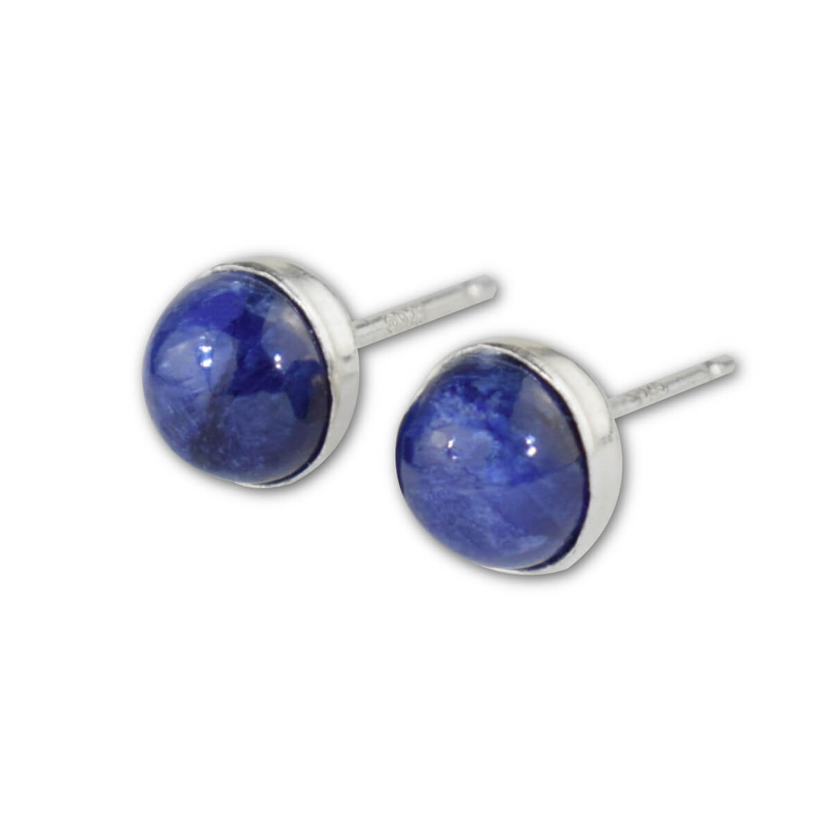 Sapphire Stud Earrings - aymcollections