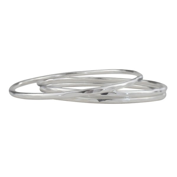 Sterling Silver Bangle Bracelets - aymcollections