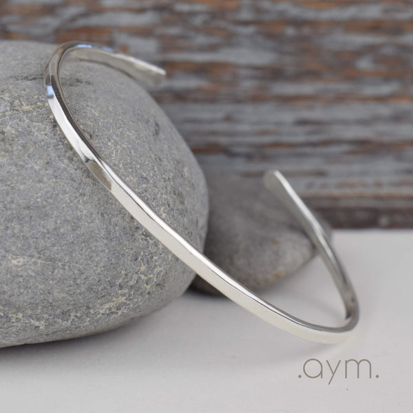 Sterling Silver Cuff Bracelet - aymcollections