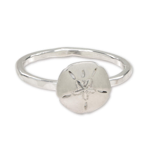Sterling Silver Sand Dollar Ring - aymcollections