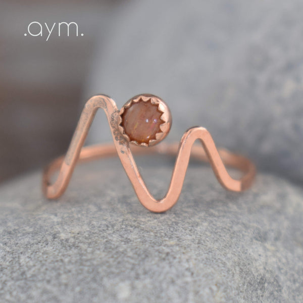 Sunrise Over the Mountains Ring - aymcollections