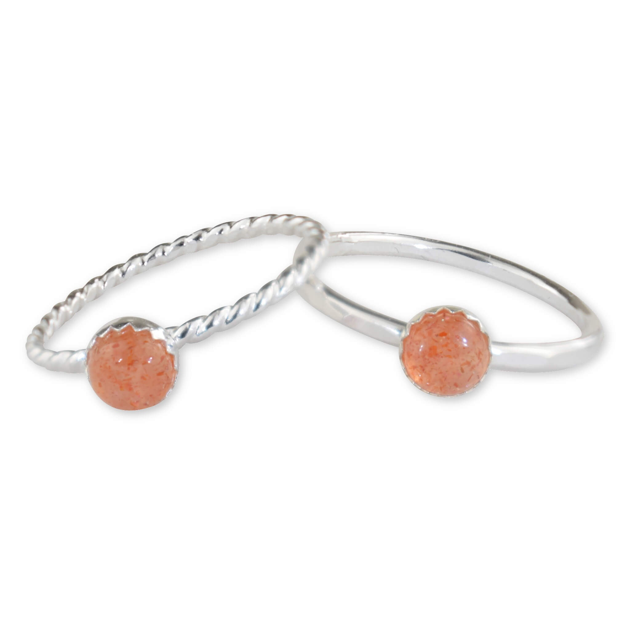 Sunstone Sterling Silver Ring - aymcollections
