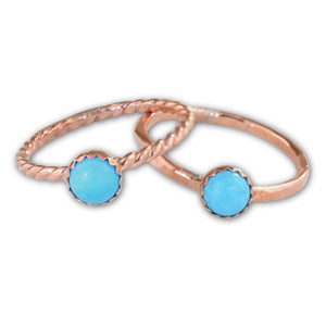 Turquoise Copper Ring - aymcollections