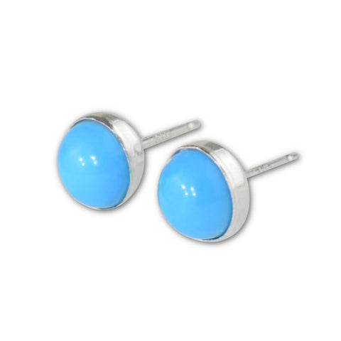 Turquoise Stud Earrings - aymcollections