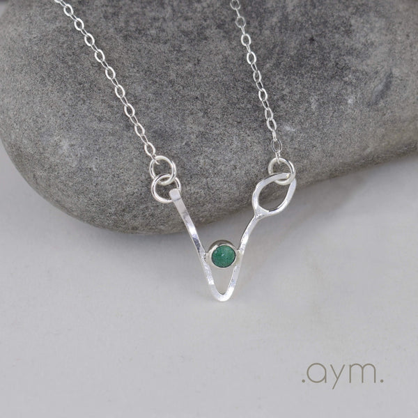 Vegan Symbol Necklace - aymcollections