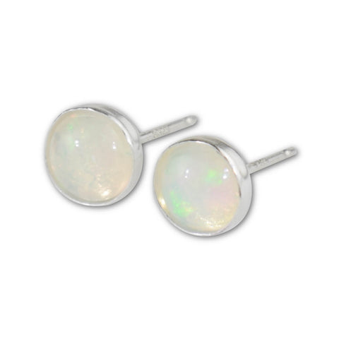 Welo Opal Stud Earrings - aymcollections