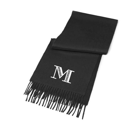 Monogrammed Scarf Personalized Gifts for Men