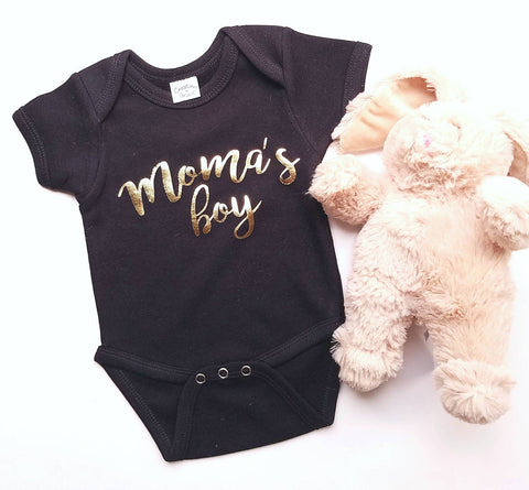 Moma's Boy infant bodysuit