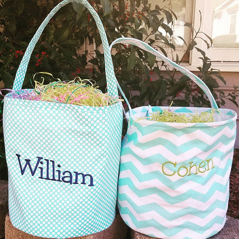 Handmade Personalized Easter Basket