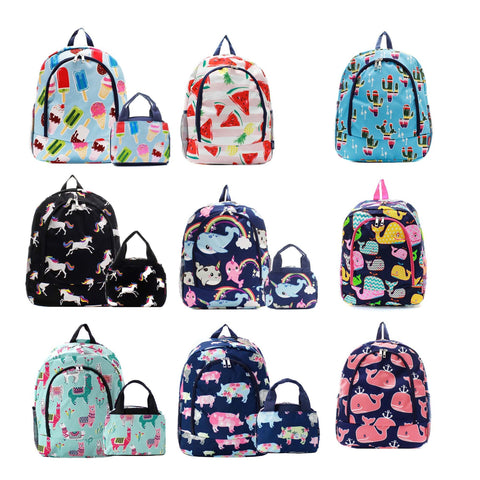 Monogrammed backpack llama backpack unicorn backpack popsicle backpack cactus backpack watermelon backpack whale backpack pig backpack