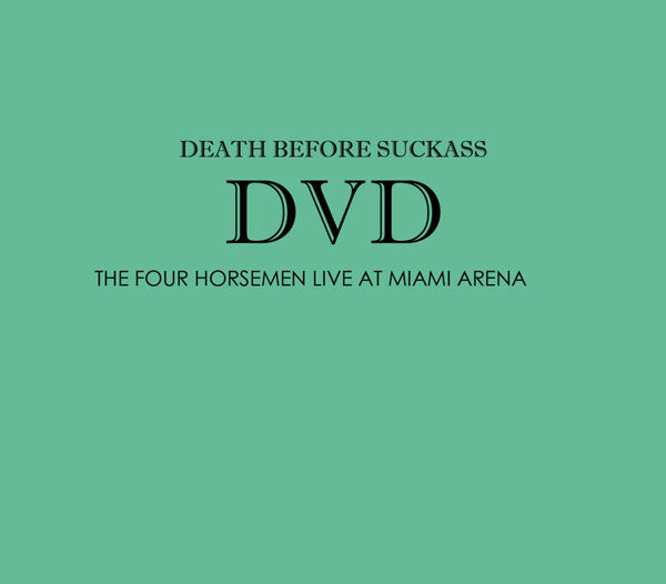 DEATH BEFORE SUCKASS V2.0 DVD