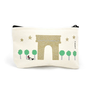 Paris Zip Pouch - LoveEmme, Product_Type, Product_Vendor