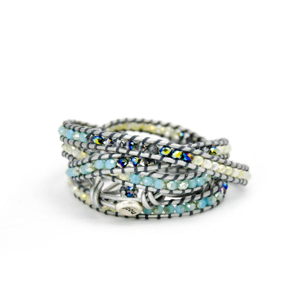 'Diamond' Wrap Bracelet