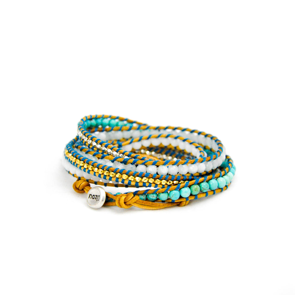 'Skyline' Wrap Bracelet - LoveEmme, Product_Type, Product_Vendor