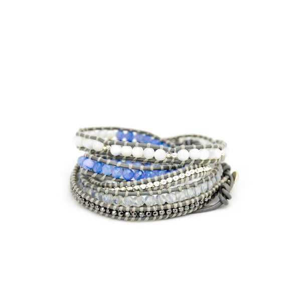 'Frost' Wrap Bracelet - LoveEmme, Product_Type, Product_Vendor