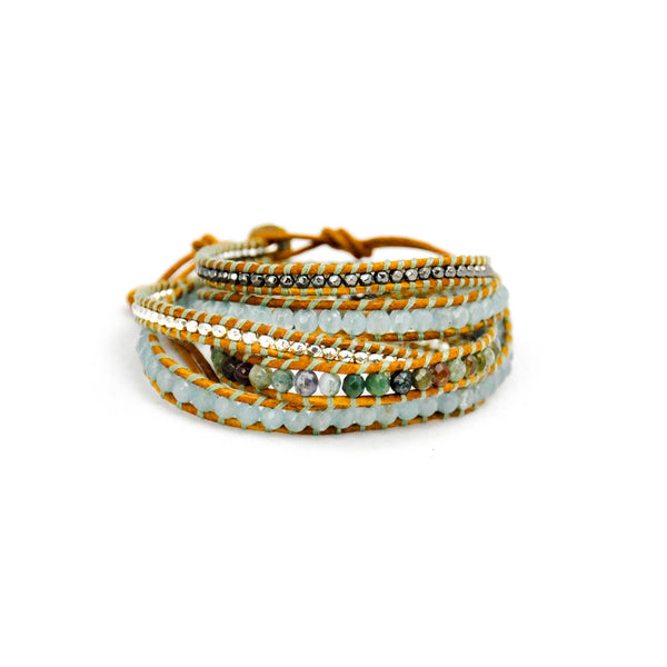 'Spring' Wrap Bracelet - LoveEmme, Product_Type, Product_Vendor