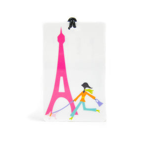Eiffel Tower Luggage Tag - LoveEmme, Product_Type, Product_Vendor