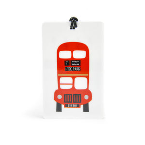 London Bus Luggage Tag - LoveEmme, Product_Type, Product_Vendor
