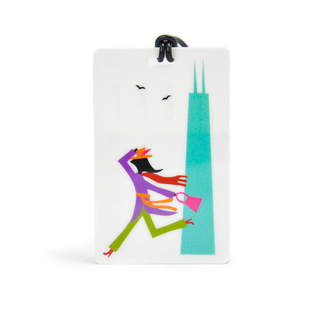 Windy City Luggage Tag - LoveEmme, Product_Type, Product_Vendor