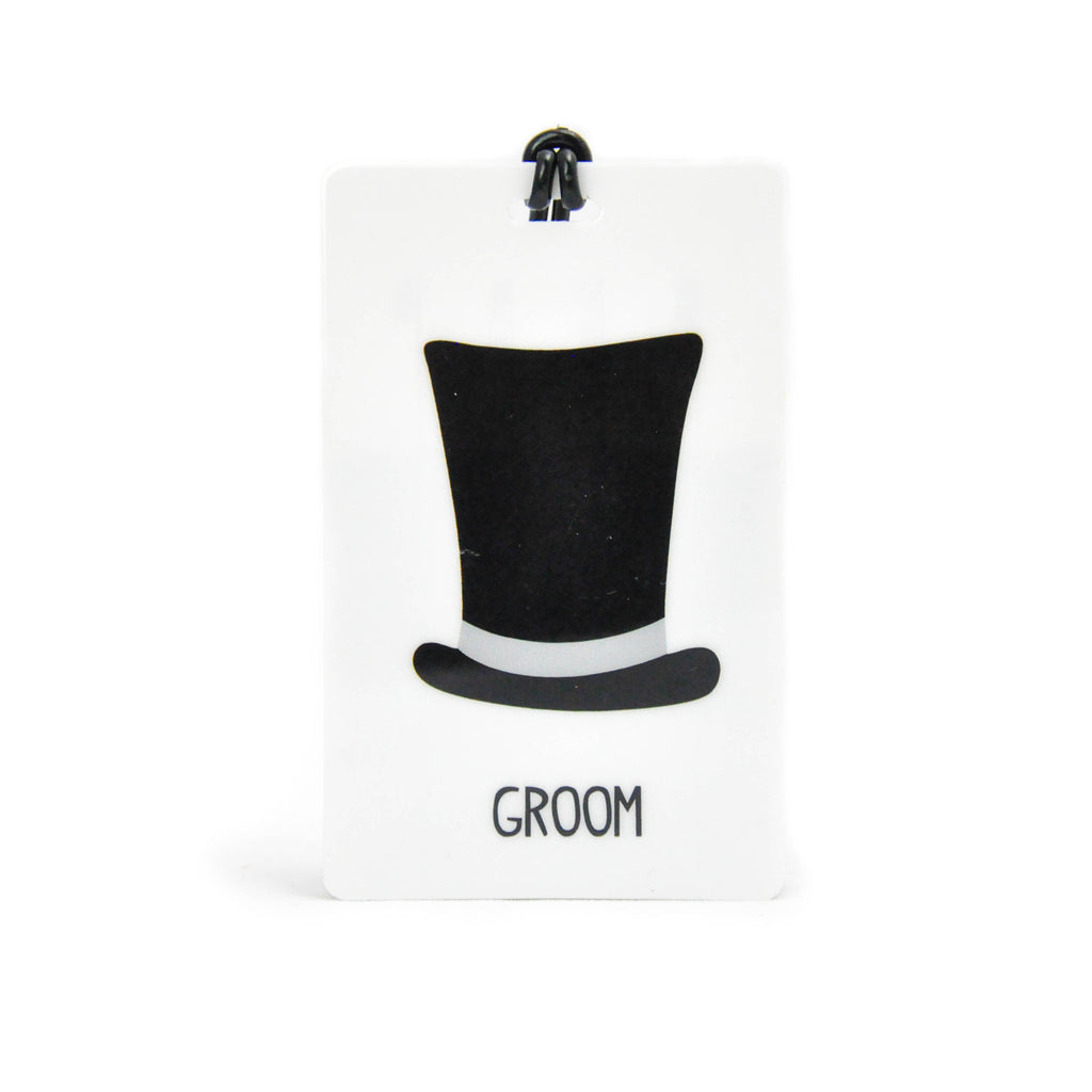 Groom Luggage Tag - LoveEmme, Product_Type, Product_Vendor