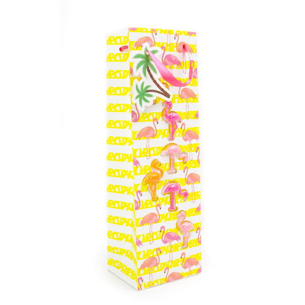 Flamingo Wine Bag with Markers - LoveEmme, Product_Type, Product_Vendor