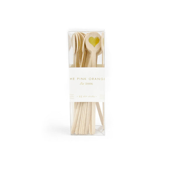 Heart Stir Sticks - LoveEmme, Product_Type, Product_Vendor