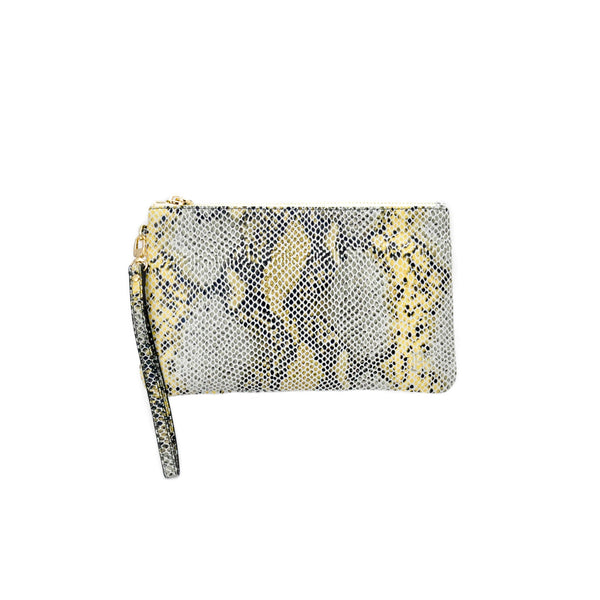 Charging Wristlet- Snake Grey - LoveEmme, Product_Type, Product_Vendor