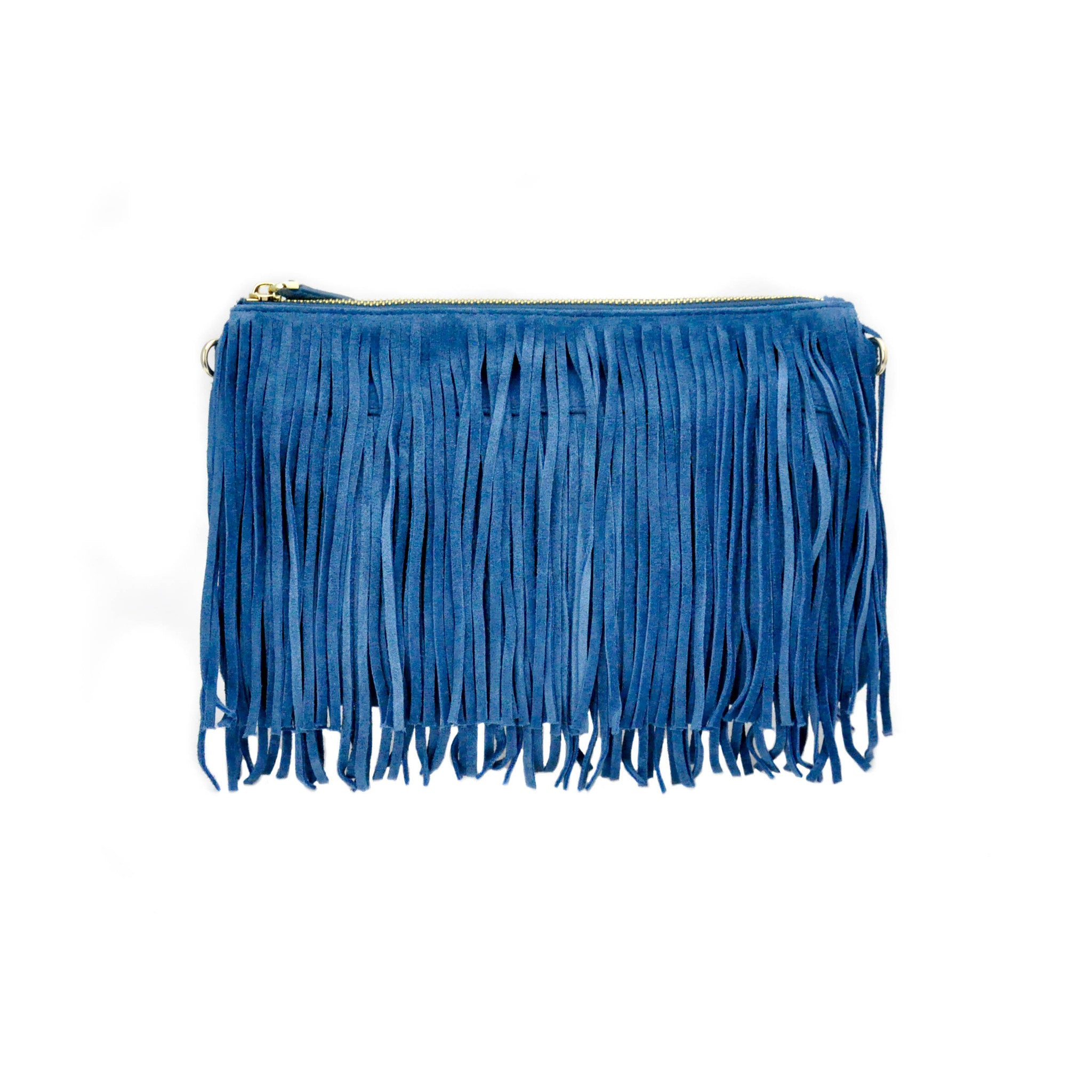 Charging Suede Blue Cross-body - LoveEmme, Product_Type, Product_Vendor
