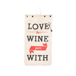 Canvas Wine & Beverage Canteen - LOVE WINE - LoveEmme, Product_Type, Product_Vendor
