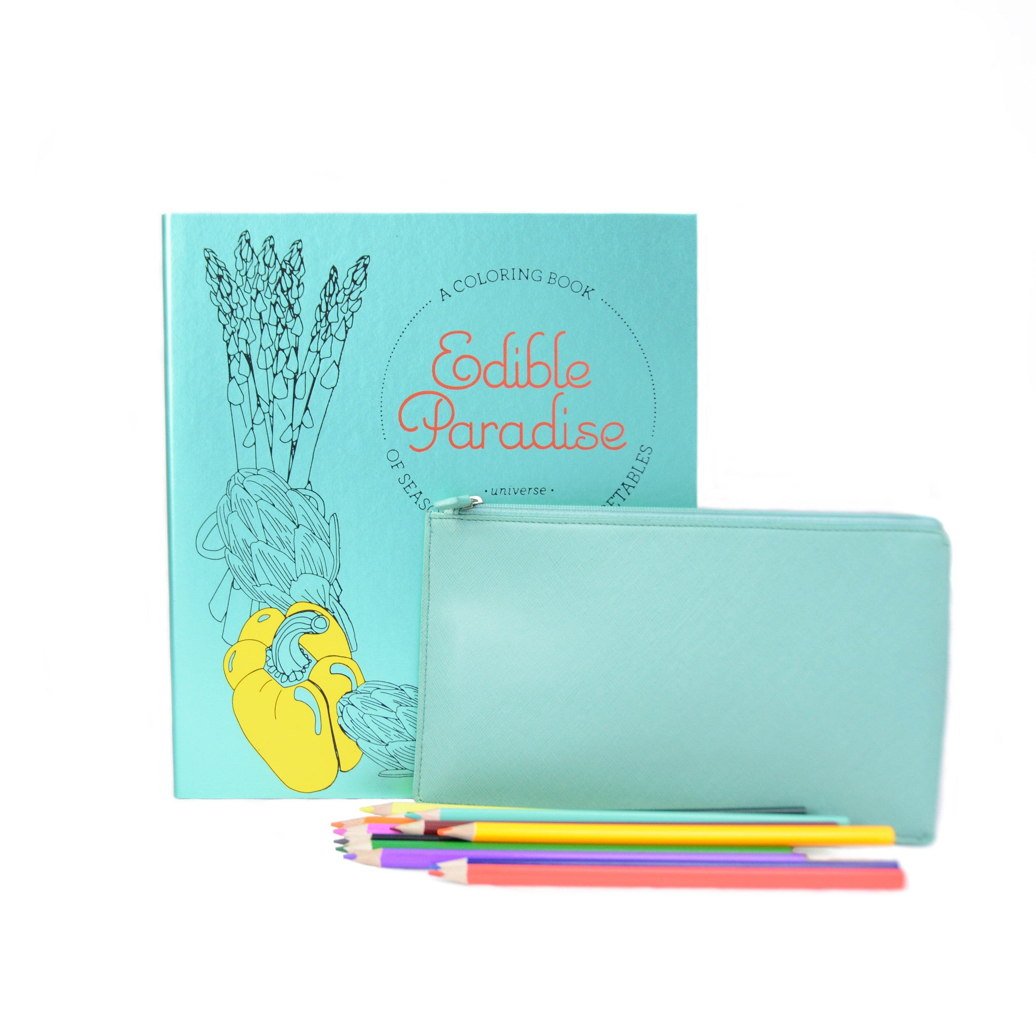 Edible Paradise Adult Coloring Gift Pack - LoveEmme, Product_Type, Product_Vendor