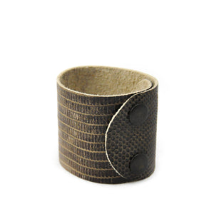 Leather Cuff Bracelet - LoveEmme, Product_Type, Product_Vendor