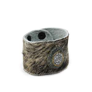 Embellished Fur Cuff - LoveEmme, Product_Type, Product_Vendor