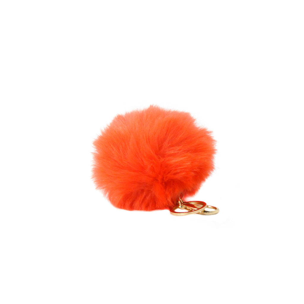 Faux Pom Pom Key Chain - LoveEmme, Product_Type, Product_Vendor