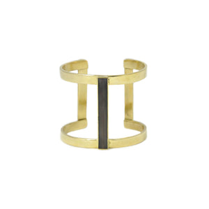 Horn Bar Double Kizimba Cuff - LoveEmme, Product_Type, Product_Vendor