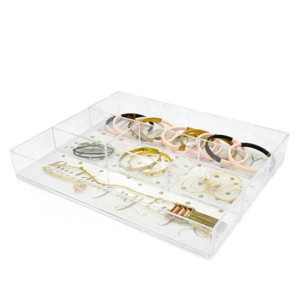 5 Compartment Drawer Organizer - LoveEmme, Product_Type, Product_Vendor