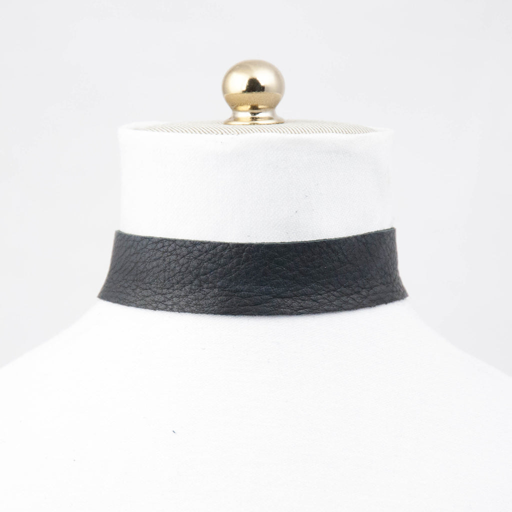 Thick Leather Choker - LoveEmme, Product_Type, Product_Vendor