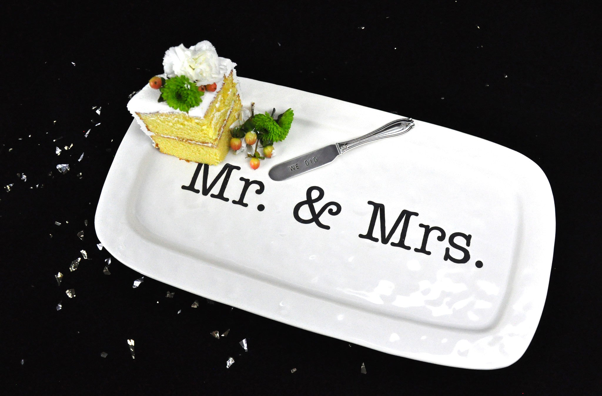 Mr. & Mrs. Hostess Tray - LoveEmme, Product_Type, Product_Vendor