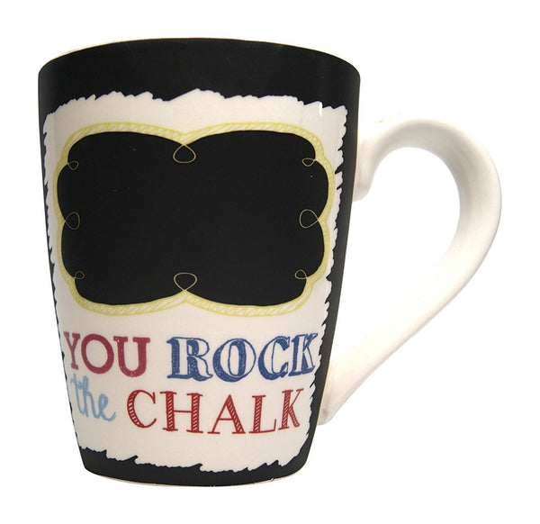 Rock the Chalk Mug