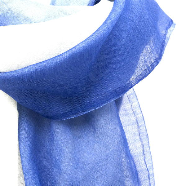 Blue Ombre Scarf - LoveEmme, Product_Type, Product_Vendor