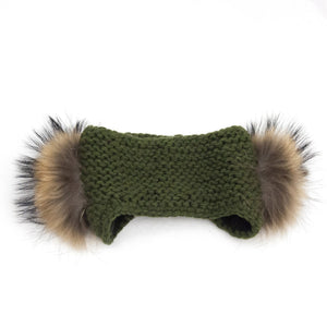Knitted Fur Headband - LoveEmme, Product_Type, Product_Vendor