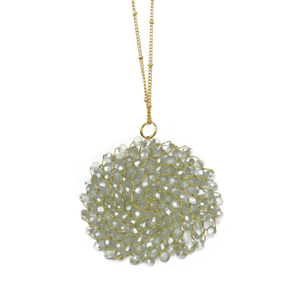 Beading Circle Necklace
