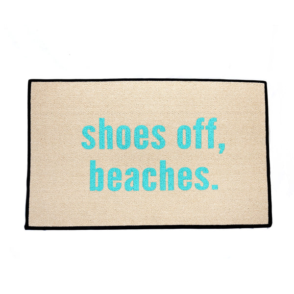Shoes off beaches Doormat - LoveEmme, Product_Type, Product_Vendor