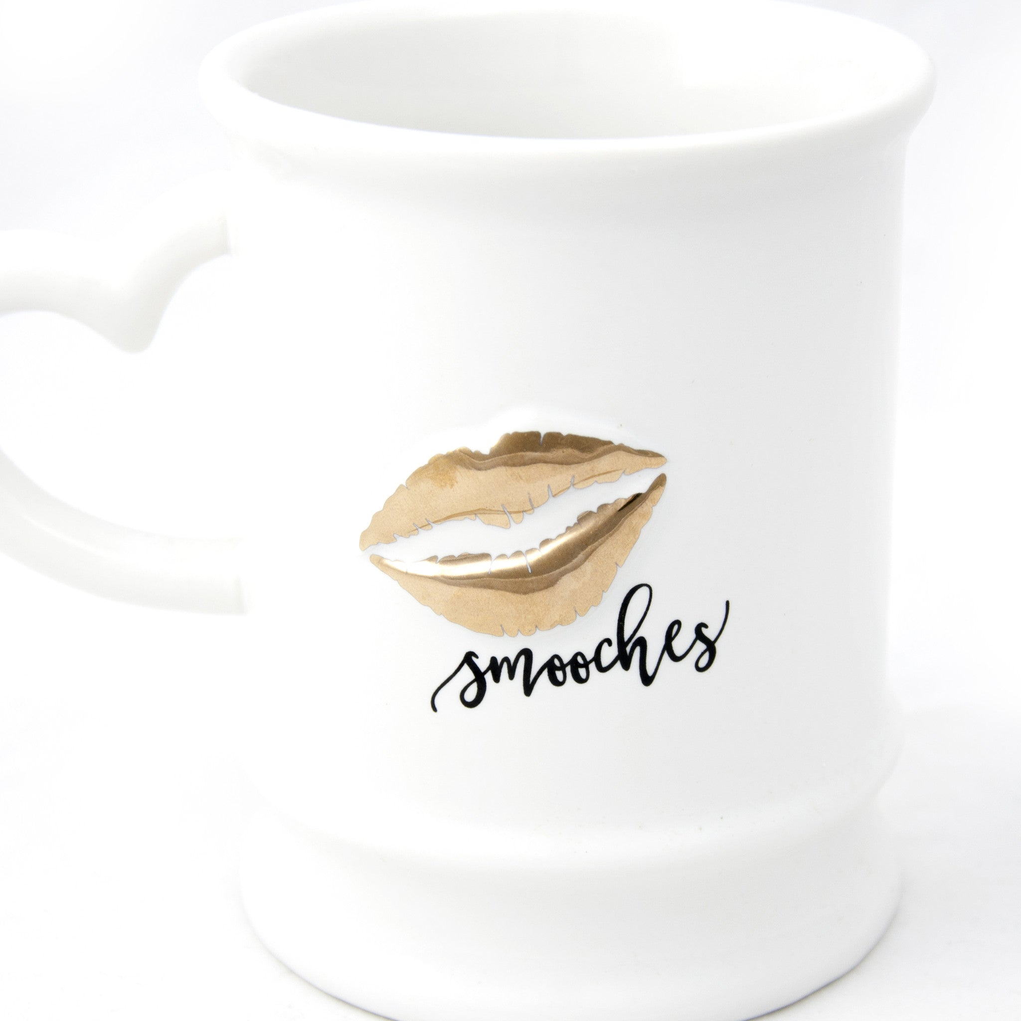 Gold Smooches Mug - LoveEmme, Product_Type, Product_Vendor