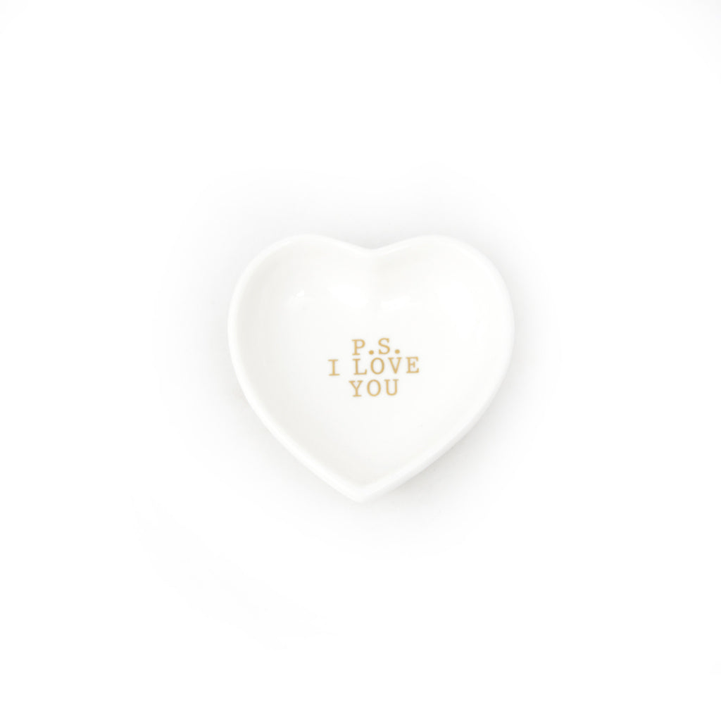 P.S I Love You Heart Plate - LoveEmme, Product_Type, Product_Vendor