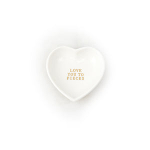 Love You to Pieces Plate - LoveEmme, Product_Type, Product_Vendor