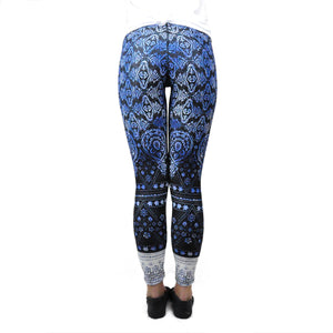 Blue Shanti-Ohm Leggings - LoveEmme, Product_Type, Product_Vendor