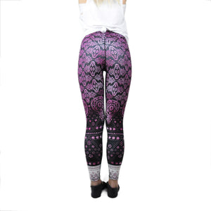 Pink Shanti-Ohm Leggings - LoveEmme, Product_Type, Product_Vendor