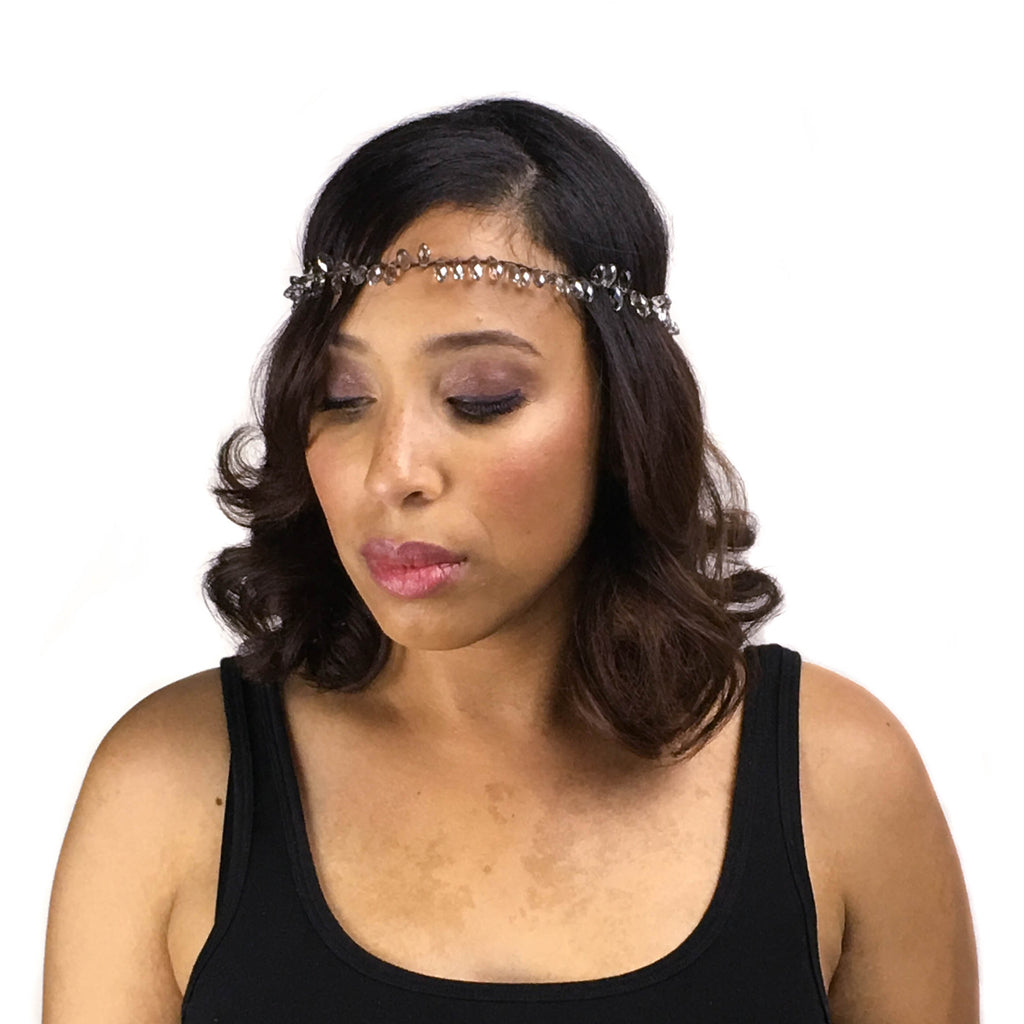 Crystal Beaded Headband - LoveEmme, Product_Type, Product_Vendor