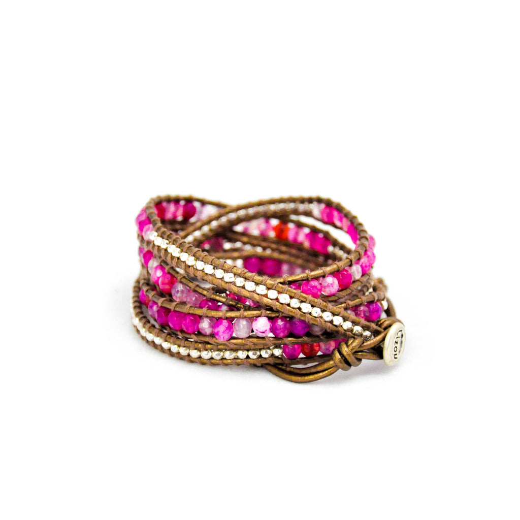 Pink Wrap Bracelet - LoveEmme, Product_Type, Product_Vendor