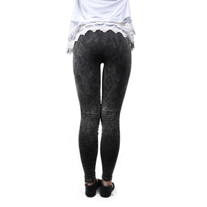 Charcoal Distressed Leggings - LoveEmme, Product_Type, Product_Vendor